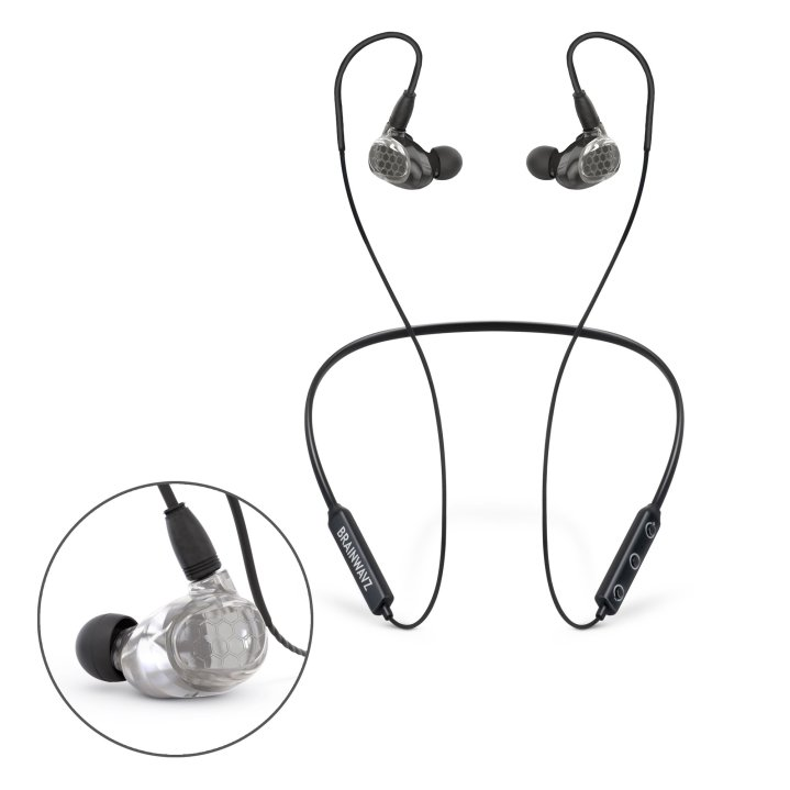 Bluetooth earphones with inline mic and remote